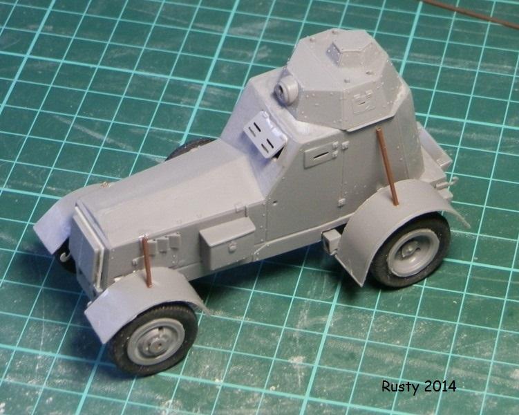 Automitrailleuse Wz-34 / II [Mirage Hobby 1/35] P1183411