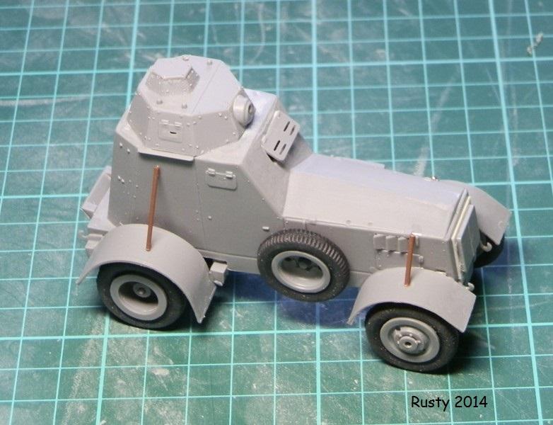 Automitrailleuse Wz-34 / II [Mirage Hobby 1/35] P1183412