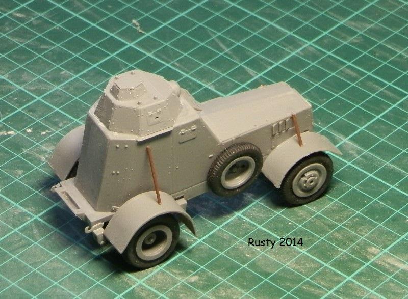 Automitrailleuse Wz-34 / II [Mirage Hobby 1/35] P1183413