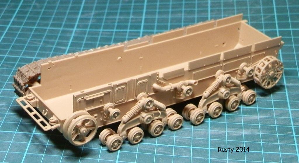 Tracteur d'artillerie Voroshilovets et canon sK.18 10,5cm [1/35 Trumpeter] P2083312