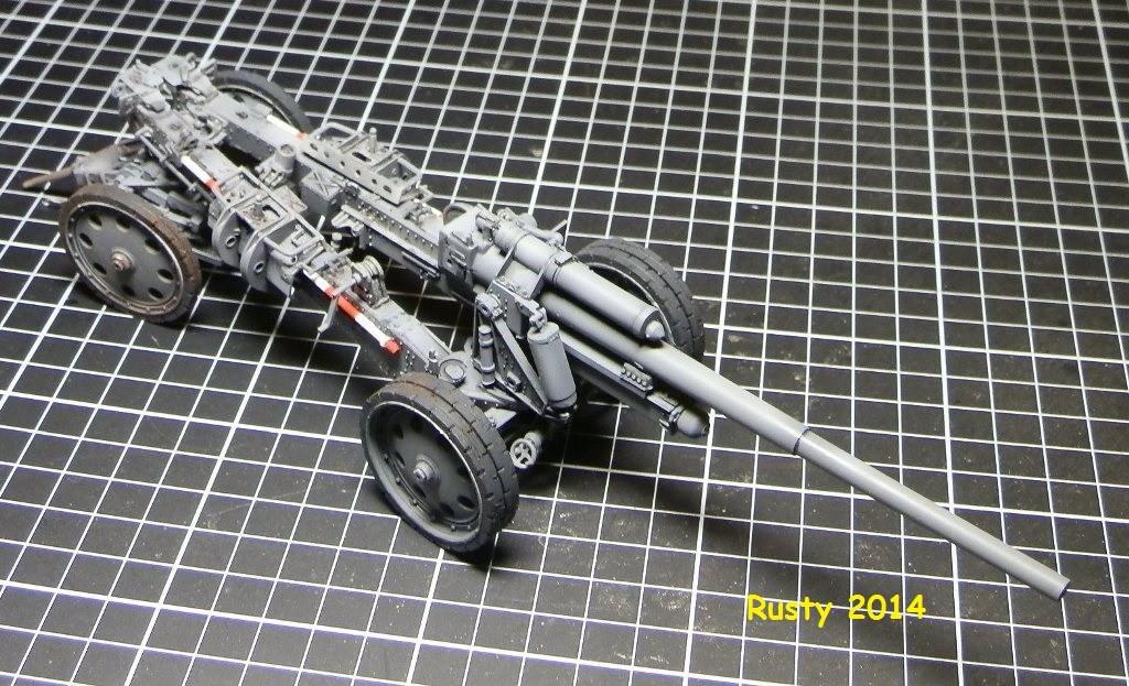 Tracteur d'artillerie Voroshilovets et canon sK.18 10,5cm [1/35 Trumpeter] - Page 2 P2173414