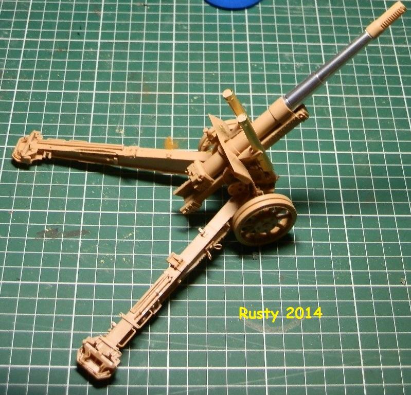 Obusier ML-20 de 152mm [Trumpeter 1/35] P2243411