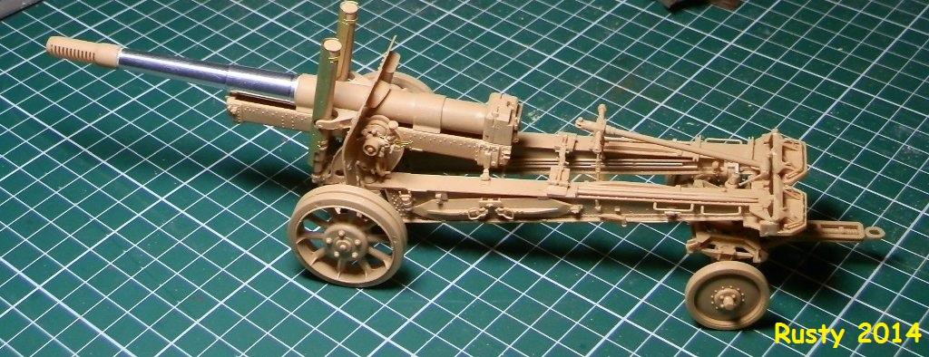 Obusier ML-20 de 152mm [Trumpeter 1/35] P2253411