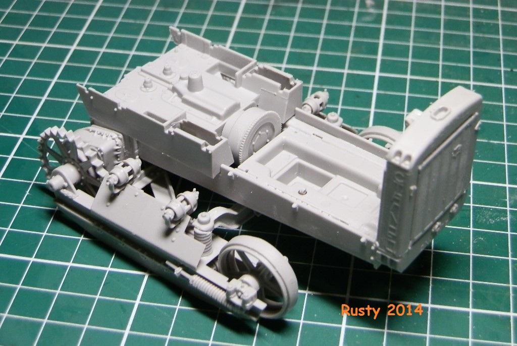 Tracteur d'artillerie CHTz S-65 [trumpeter 1/35] P3073411