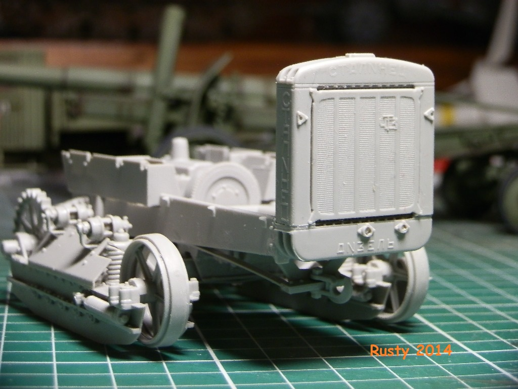 Tracteur d'artillerie CHTz S-65 [trumpeter 1/35] P3073413