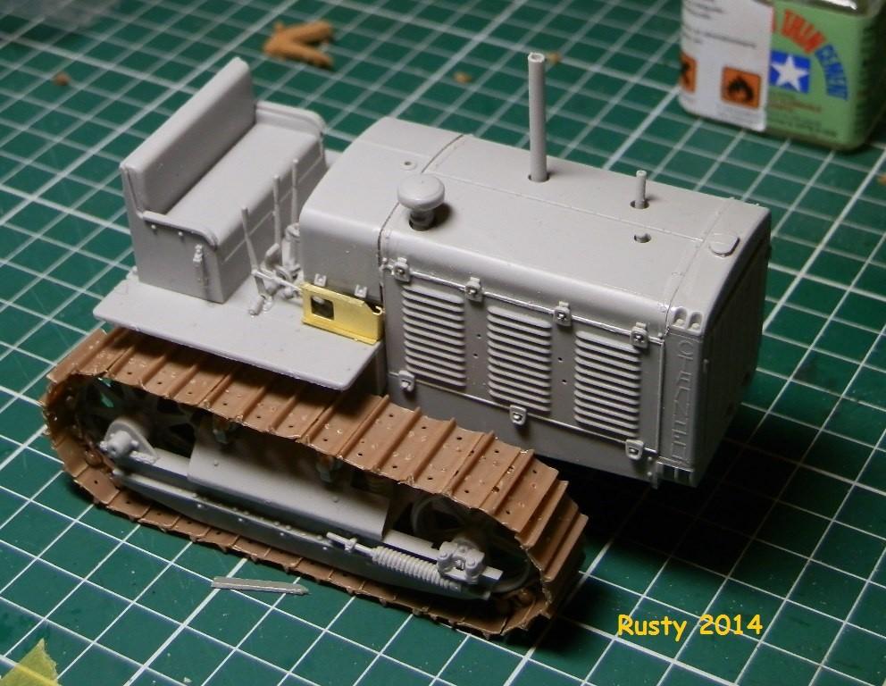 Tracteur d'artillerie CHTz S-65 [trumpeter 1/35] P3143410