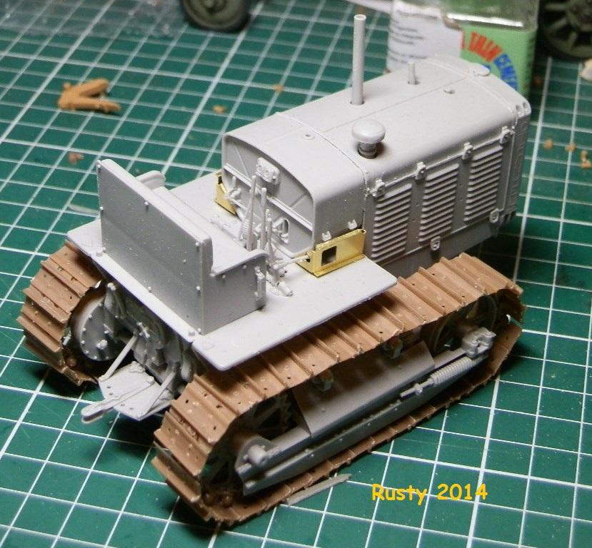 Tracteur d'artillerie CHTz S-65 [trumpeter 1/35] P3143411