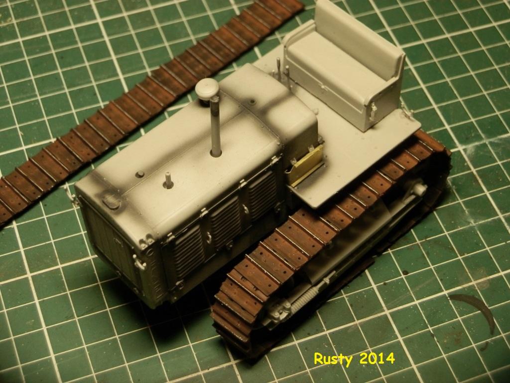 Tracteur d'artillerie CHTz S-65 [trumpeter 1/35] P3233419
