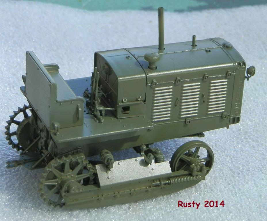 Tracteur d'artillerie CHTz S-65 [trumpeter 1/35] P3233420