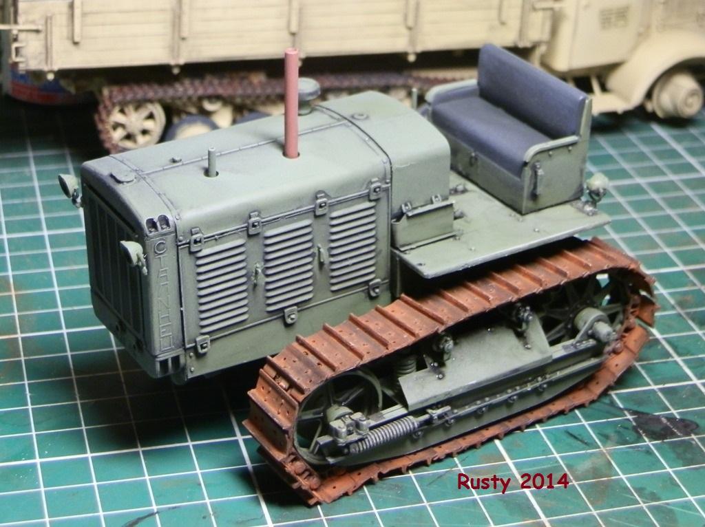 Tracteur d'artillerie CHTz S-65 [trumpeter 1/35] P3243410