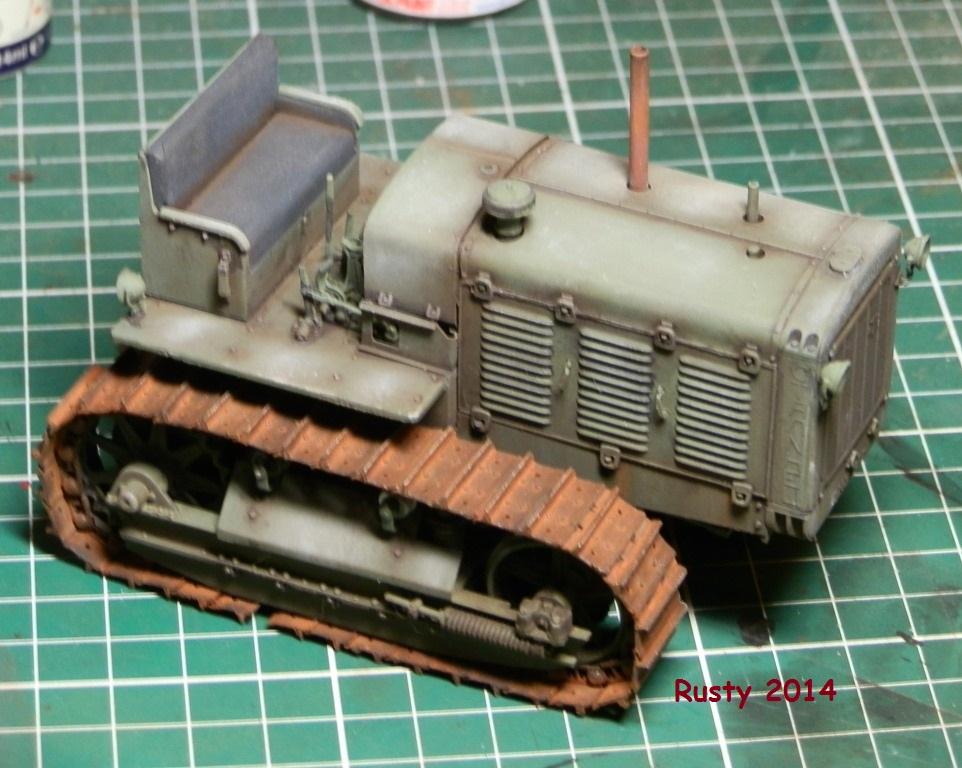 Tracteur d'artillerie CHTz S-65 [trumpeter 1/35] - Page 2 P3243411