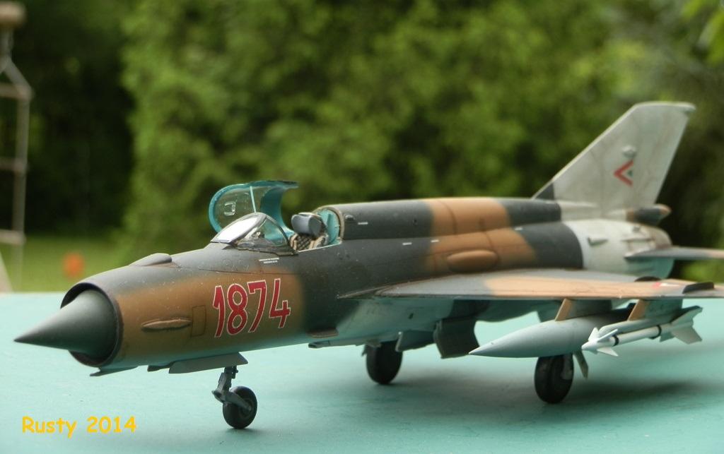 Mig-21 bis [1/48 Eduard Week End] P5100013