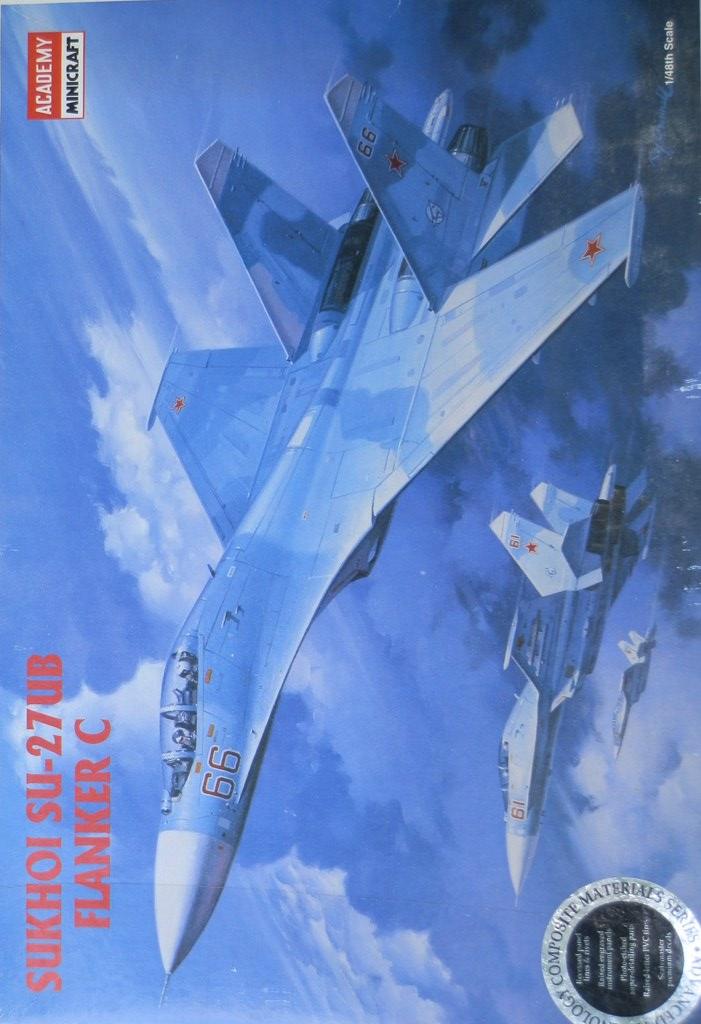 Sukhoi Su-27UB [Academy 1/48] P5110011