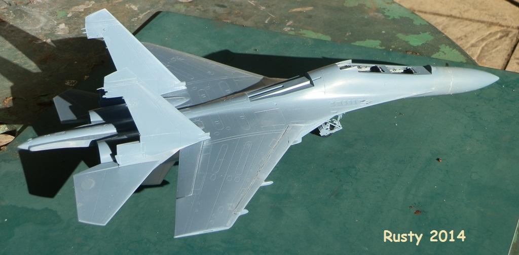 Sukhoi Su-27UB [Academy 1/48] P5170010
