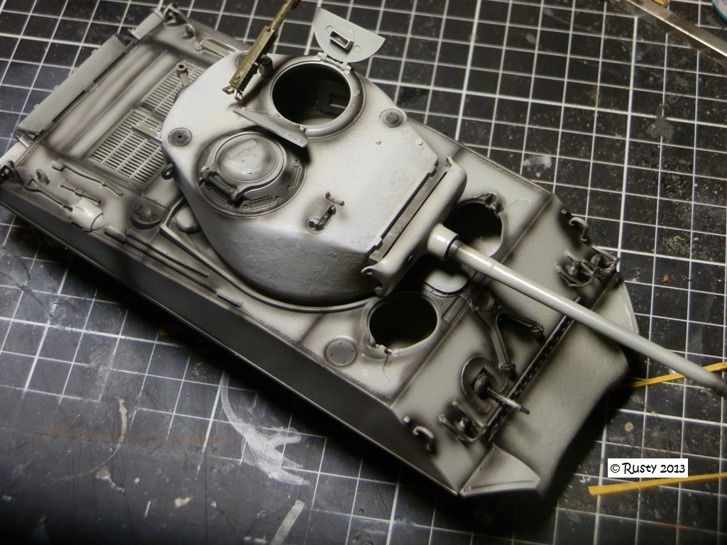 M4A3 (76) S/Lt d'Arcangues 12eme RCA [Italeri 1/35 ref.6440] Pa113310