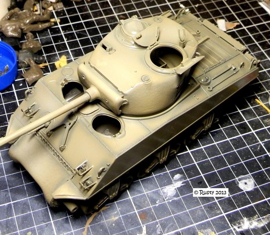 M4A3 (76) S/Lt d'Arcangues 12eme RCA [Italeri 1/35 ref.6440] Pa123311