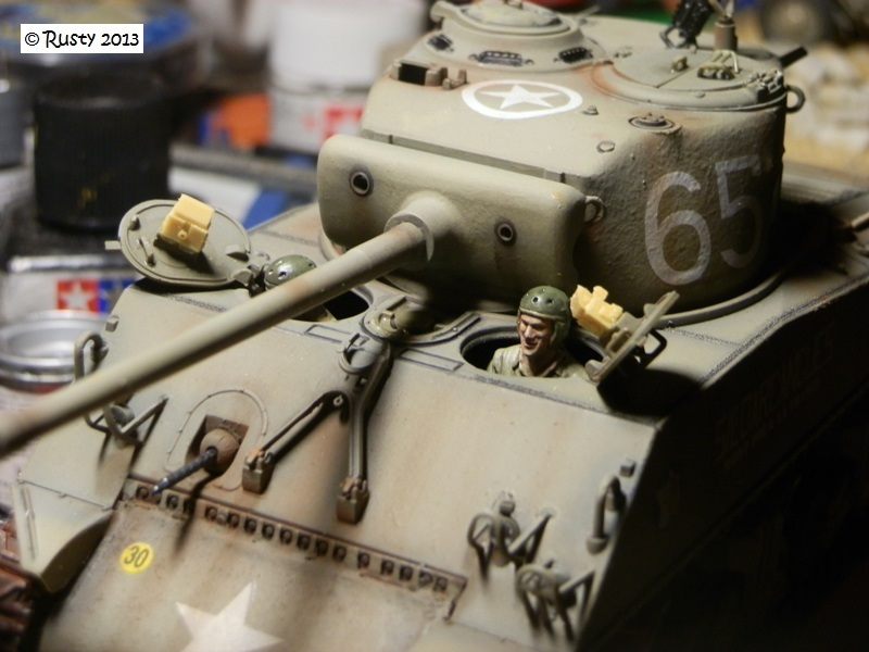 M4A3 (76) S/Lt d'Arcangues 12eme RCA [Italeri 1/35 ref.6440] - Page 2 Pa243310