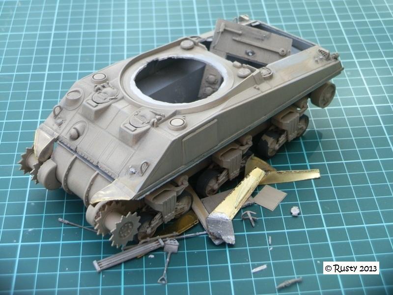 M4A3 (76) S/Lt d'Arcangues 12eme RCA [Italeri 1/35 ref.6440] - Page 2 Pa273310