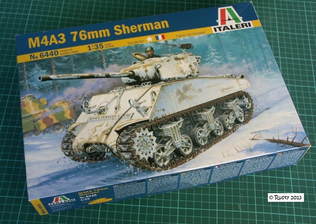 M4A3 (76) S/Lt d'Arcangues 12eme RCA [Italeri 1/35 ref.6440] Pict0010