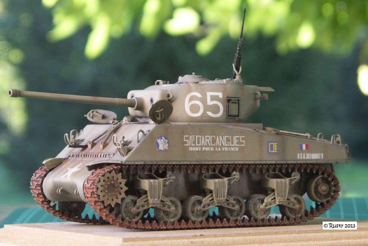 M4A3 (76) S/Lt d'Arcangues 12eme RCA [Italeri 1/35 ref.6440] Pict0015