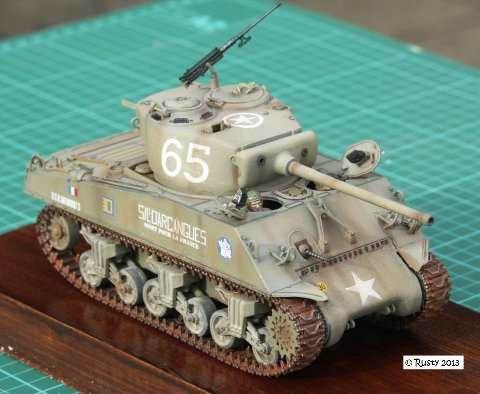 M4A3 (76) S/Lt d'Arcangues 12eme RCA [Italeri 1/35 ref.6440] - Page 2 Pict0020