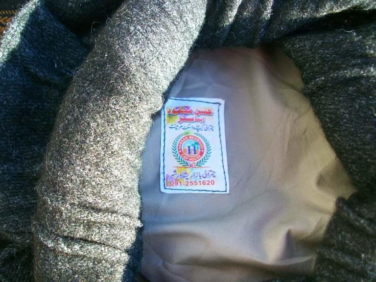Afghan Pakol and Blanket 00417