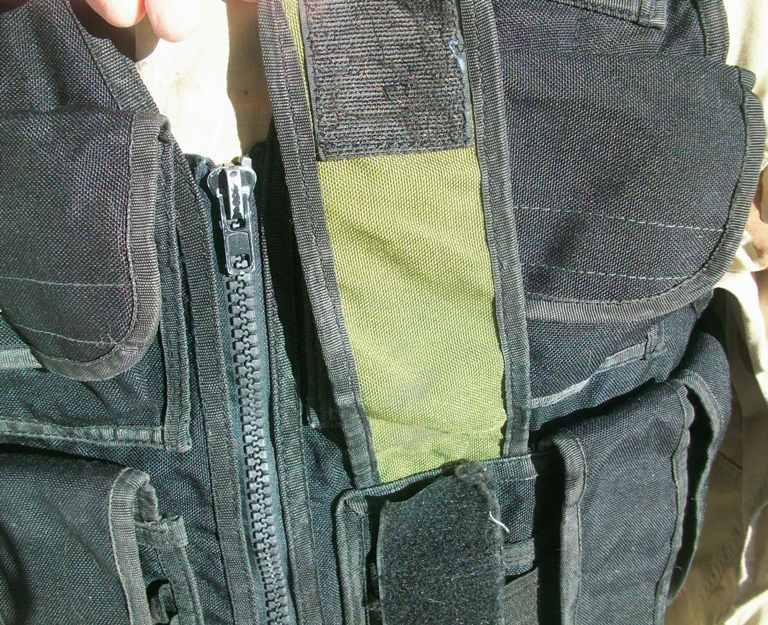 Afghan Black Police Vest 01412
