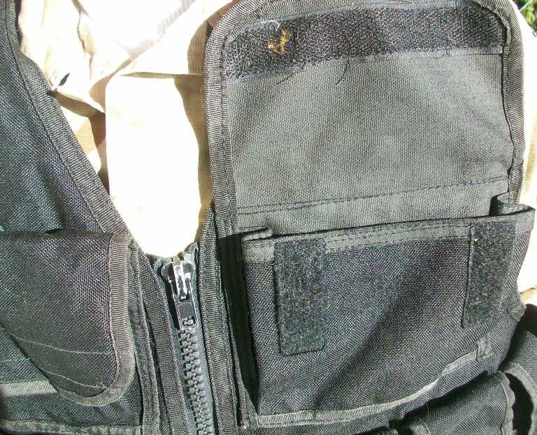 Afghan Black Police Vest 01512