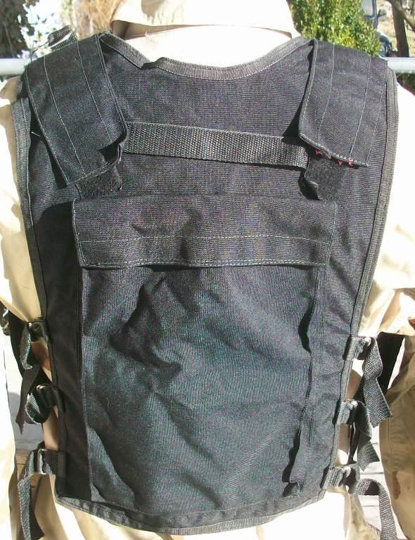 Afghan Black Police Vest 01612