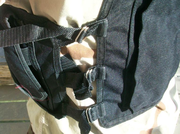 Afghan Black Police Vest 01811