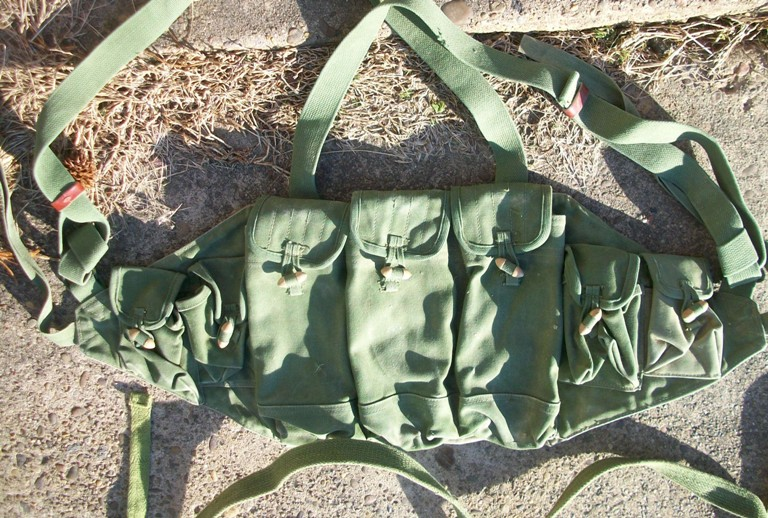 Afghan Made AK Chest Pouch 02910
