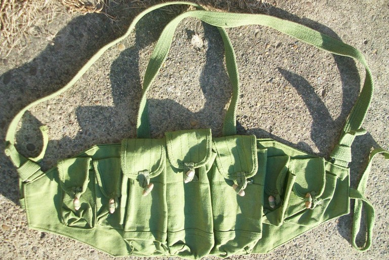 Afghan Made AK Chest Pouch 03010