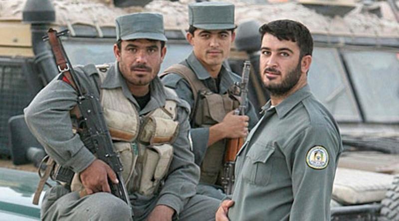 Afghan Black Police Vest Afghan15