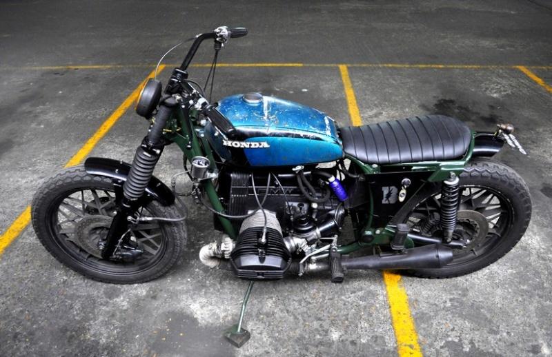Transformation d'une R100R Green_10