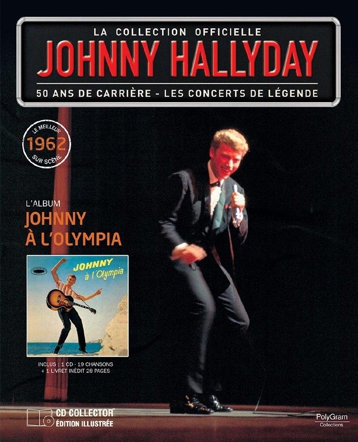 "n° 71 : ""1962  Johnny à l'Olympia"" 13960110"