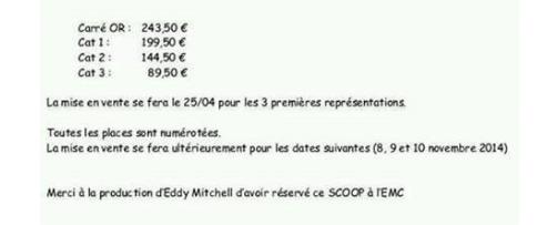 Johnny Hallyday, Jacques Dutronc & Eddy Mitchell à Paris-Bercy  Captur69