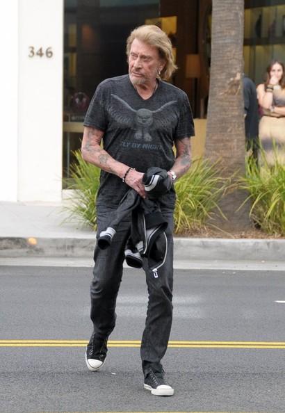 Johnny Hallyday  Beverly Hills 12 nov 2013 Johnny28