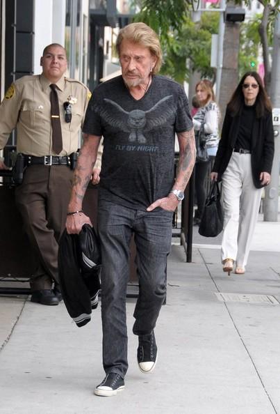 Johnny Hallyday  Beverly Hills 12 nov 2013 Johnny30