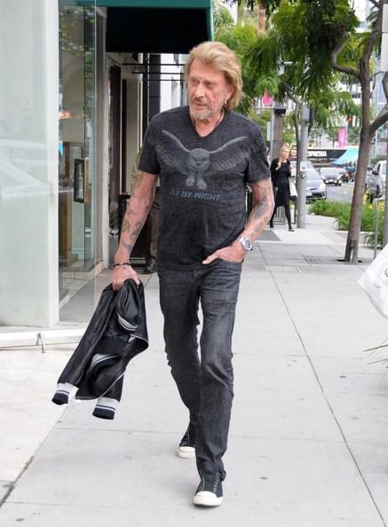Johnny Hallyday  Beverly Hills 12 nov 2013 Johnny32
