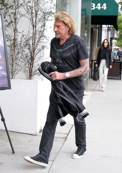 Johnny Hallyday  Beverly Hills 12 nov 2013 Johnny33