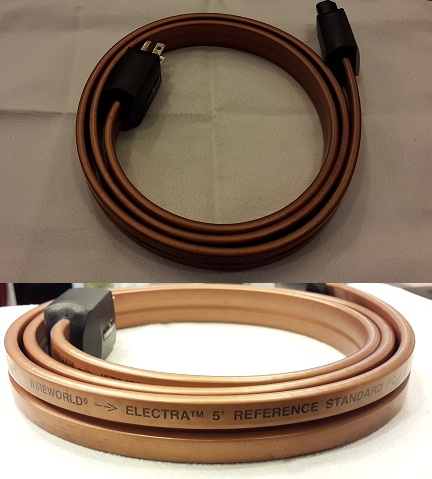 Wireworld Electra 5² powercord (Used) SOLD Wirewo10