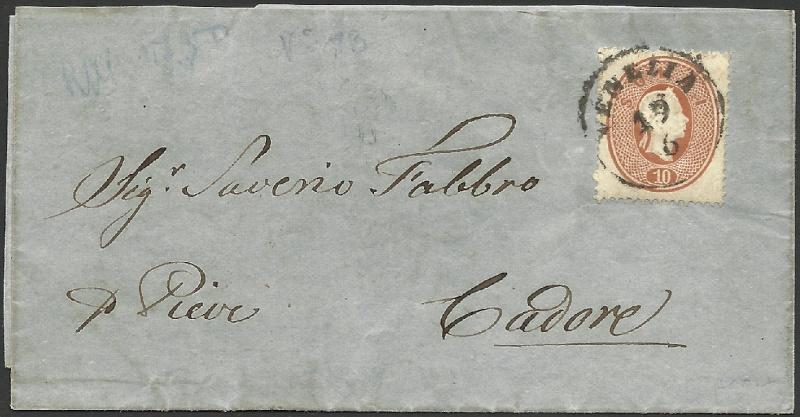 Lombardei-Venetien, Ausgabe 1861/62 1861_l11