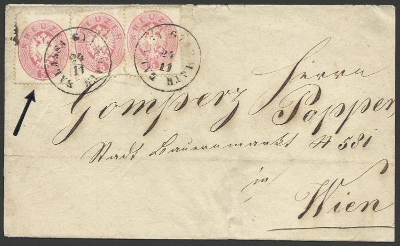 Die Freimarken-Ausgabe  1863 1863_m10