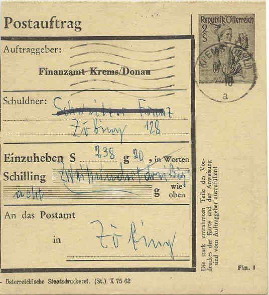 Postaufträge der Finanzämter 1962_p10