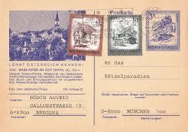 """Wertstempel & Zusatzfrankatur """"Schönes Österreich"""" 1_pk10"""