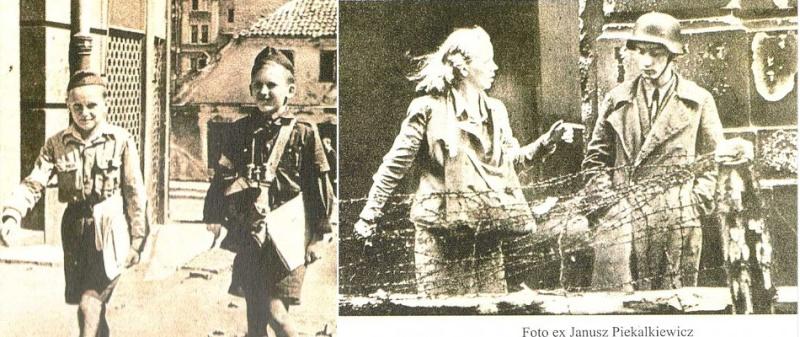 Pfadfinderdienste im Warschauer Aufstand 1944 Aufsta10