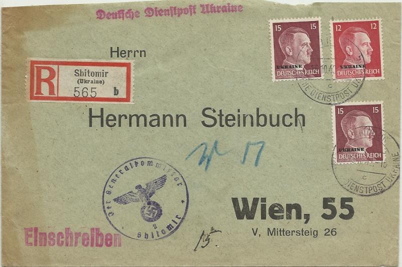 Nachtrag - Deutsche Besetzungsausgaben im II. Weltkrieg - Seite 7 Dienst10