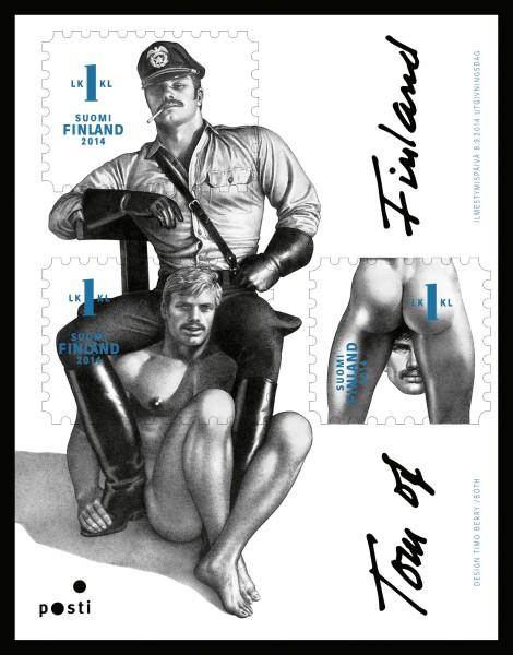 Popo auf Briefmarke Finnla10