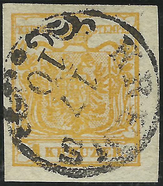 Die erste Österreichische Ausgabe 1850 Kadmiu10