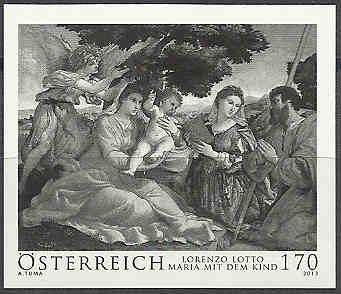 Österreich - Specimen, Schwarzdrucke, Buntdrucke Schwar10